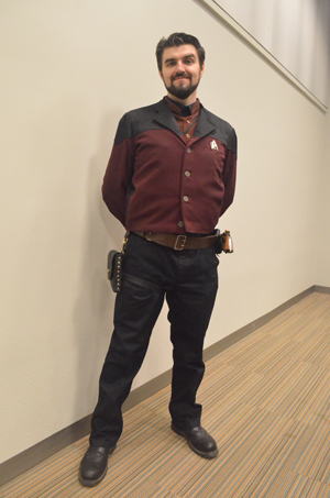 We were truly impressed by this Steampunk Commander Riker!