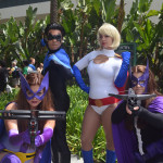Huntress, Nightwing, Power Girl & Huntress